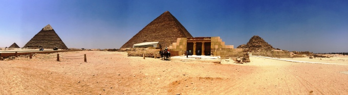 4 pyramids of the Giza Necropolis