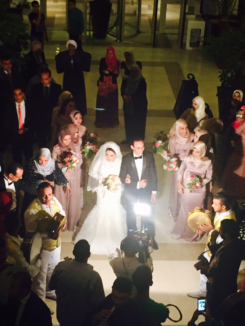 Egyptian wedding