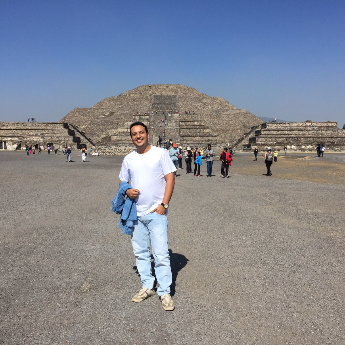 The Pyramid of the Sun, Teotihuacan Mexico