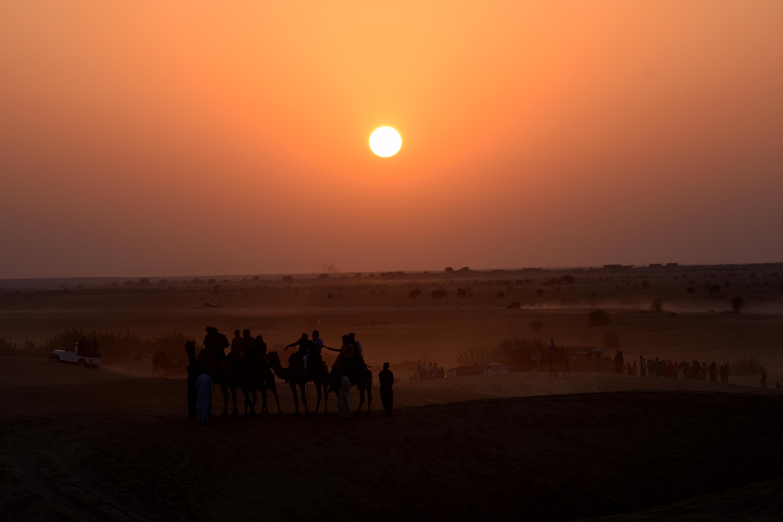 Thar Sunset